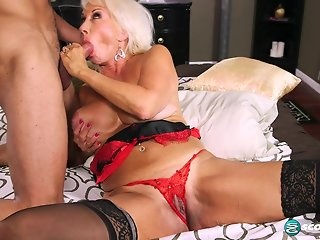lingerie big ass granny