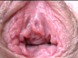 big clit close-up orgasm