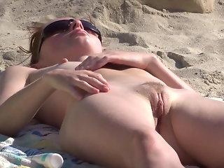flashing beach public nudity
